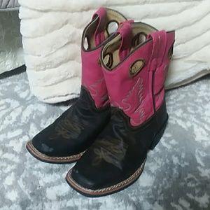Girls cowboy boots size 12